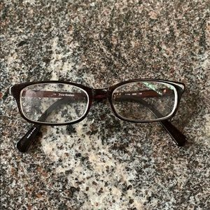 Worn Juicy Couture glasses